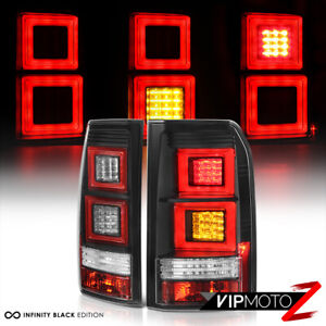 2010-2014 Land Rover LR4 Discovery [EURO SPEC] Black LED Signal Brake Tail Light