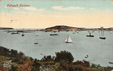 R180671 Falmouth Harbour. Valentine. 1919