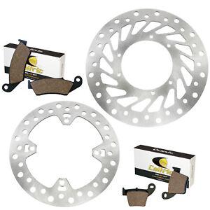 Rhegene Motorcycle Front Brake Disc Rotor for Honda CR125 CR250 1995-2007 CR250 CRE F250R F300X F500X 2008-2009 CRF250 2004-2009 2008 CRF250R CRF450 CRF450R CR500