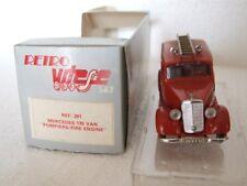 Vitesse 291- 1:43 - Mercedes 170 Van Pompiers Fire Engine 1939