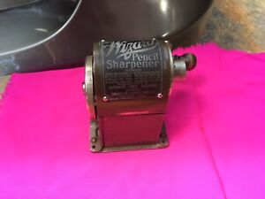 Antique WIZARD Pencil Sharpener Automatic Chicago USA Patented 1900-1916