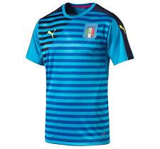 Puma italie figc stadium shirt jersey 7-8 ans bnwt bleu atomique-vareuse