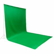 10ftx20ft Polyester Green Screen Muslin Backdrop Photo Photography Wrinkle Free