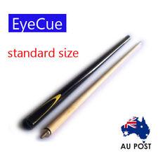 EyeCue Black Potter 2-Piece Cue Pool Snooker Billiard
