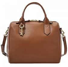 FOSSIL Borsetta Fiona Satchel Medium Brown