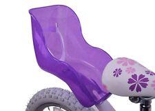 Le ragazze girlie GLITTER VIOLA BICI BAMBINO Dolly Carrier Ragazzi SEAT regalo di compleanno