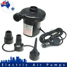 Car Air Pump Electric Inflator Deflator 12v Volt Airbed Bed Mattress Pool Lilo