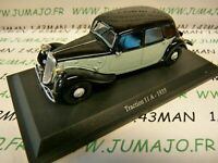 TRA43C voiture 1/43 atlas traction NOREV  traction 11A 1935