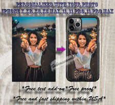 PERSONALIZED FAMILY PHOTO PICTURE CUSTOM PHONE CASE FOR IPHONE X,IPHONE 11 GEN