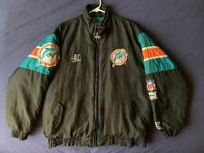 Men's vintage Pro Line Logo Athletic NFL Miami Dolphins jacket size L