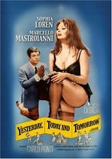 RARE 16mm Feature: YESTERDAY TODAY AND TOMORROW (CINEMASCOPE) SOPHIA / MARCELLO