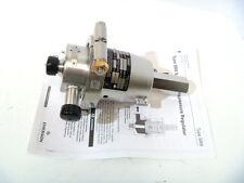 "3/4"" Fisher FS# SR8-2EEP1 PTFE/316L Sanitary Backpressure Regulator Range2-8 NEW"