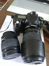 Nikon D50 DSLR with 28-80 and 70-300 whole set