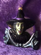 Polonaise Wicked Witch Of The West Ornament Wizard Of Oz New Nib Mint Kurt Adler