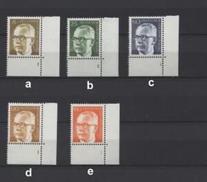 Berlin 359 - 396 FN, Formnummer Eckrand, **; bitte auswählen! #p622