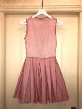jones+jones Dusty Pink 🌸 Lace Formal Skater Dress SIZE 8