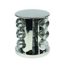 Royal Cuisine 12 Bottle Glass Jar Herb Spice Rack Stand Holder Storage Organiser