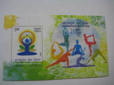 2015 India International Yoga Day Miniature Sheet - MNH - Limited Edition