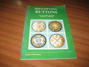 IDENTIFYING BUTTONS BY MICHAEL J CUDDEFORD ALAN & GILLIAN MEREDITH