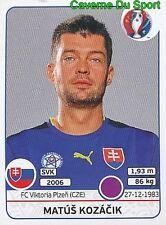 213 MATUS KOZACIK SLOVENSKA REPUBLIKA FC.VIKTORIA PLZEN STICKER EURO 2016 PANINI