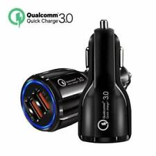 Premium 48W Fast Car Charger 2 Port USB Adapter Dual Qualcomm Quick Charge 3.0