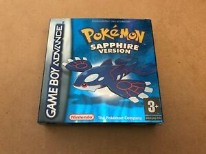 Pokemon Sapphire - Gameboy Advance - Box Only