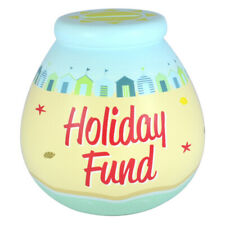 Pot Of Dreams Holiday Fund Breakable Money Pot - Holiday Pot Fund - Friends Gift