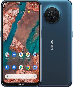 """New Nokia X20 Blue 6.67"""" 128GB Dual SIM 5G Android 11 Sim Free Unlocked"""