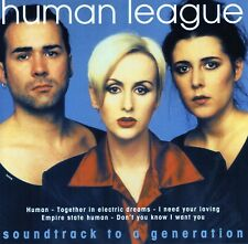 Human League - Soundtrack To A Generation  (CD 1996) Original CD
