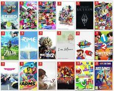 Nintendo Switch Game Muli-Listing Mario Animal Crossing Steelbook Collectors ed.