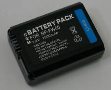 Battery for Sony NP-FW50 Alpha A3000 A3500 A5000 A6500 A6000