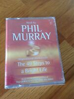 The 49 Steps To A Bright Life - Phil Murray (2 Cassette Audiobook, New & Sealed)