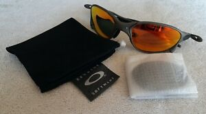 Oakley X Metal XX Sunglasses - Black/Fire Iridium - VERY NICE