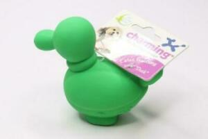 Charming Pet Latex XS Balloon Duck Squeaker Dog Toy - 2 Pack