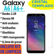 Cristal Templado Protector De Pantalla Para Samsung Galaxy A6 | A6+ Plus Vidrio