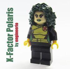 LEGO Custom --- Polaris X-Factor --- Marvel Super heroes X-Men minifigures