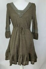 Anthropologie Brown Sweater Dress Medium