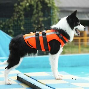 Dog Life Jacket Safety Clothes Pet Life Vest Swimming Clothes Swimwear For Dogs