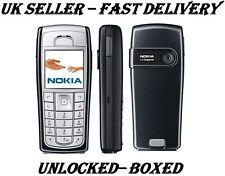 Barato Nueva condición NOKIA 6230I Negro Desbloqueado Teléfono Bluetooth Cámara clásica