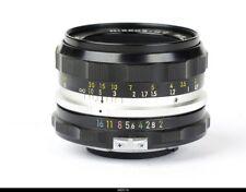 Nikon  Nikkor H-C  Auto 2/50mm   Lens