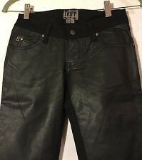 TRIPP NYC DAANG GOODMAN SKINNY BLACK JEANS JEANS SIZE 24/0, TWO FABRICS, GOTHIC