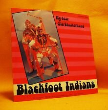"7"" Single Vinyl 45 Blackfoot Indians My Dear Old Shatterhand 2TR 1979 MINT RARE"