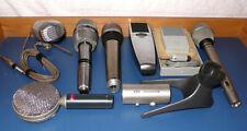 Konvolut bestehend aus 7 alten Mikrofonen #2 --       anschauen!