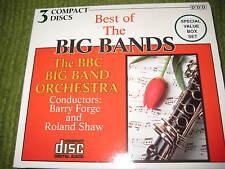 Vintage BEST OF THE BIG BANDS BBC Orchestra 3 CD Set 201