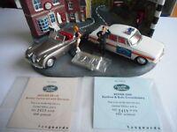Vanguards by Lledo PD1002 Rover 2000 Renfrew & Bute Cons & Jaguar XK120 Ltd Ed