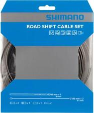 Shimano Road Stainless Derailleur Cable and Housing Set, Black