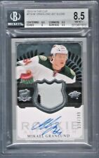 2013-14 MIKAEL GRANLUND The Cup RPA Jersey Patch Auto Rc #28/249 BGS 8.5