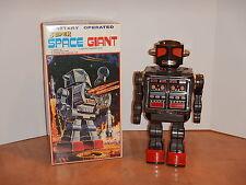"""METAL HOUSE SUPER SPACE GIANT 16"""" ROBOT BLACK METARU HAUSE HORIKAWA JAPAN NOS"""