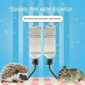 Pet Dog Cat Hamster Cat Rabbit Automatic Drinking Hanging Bottle Water Favo K6L5