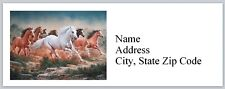 Personalized Address Labels Western Horses Buy 3 get 1 free (bx 625)